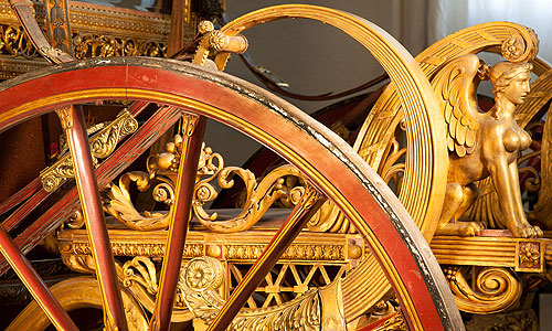 Picture: First Munich Coronation Coach, detail