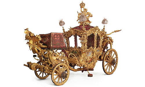 Picture: The small Gala Coach of King Ludwig II