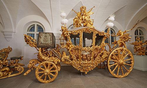 Bild: Gro�er Prunkwagen König Ludwigs II.