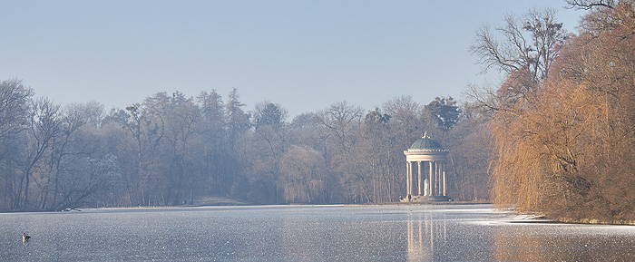 Picture: Badenburg Lake with  Monopteros