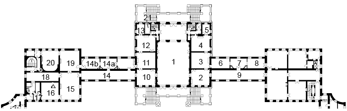 Picture: Plan of Nymphenburg Palace