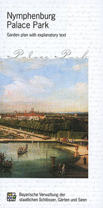 "Link to the short guide  ""Nymphenburg Palace Park"" in the online shop"