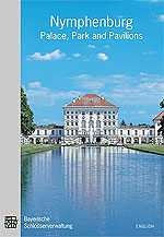 "Link to the official guide ""Nymphenburg"" in the online shop"